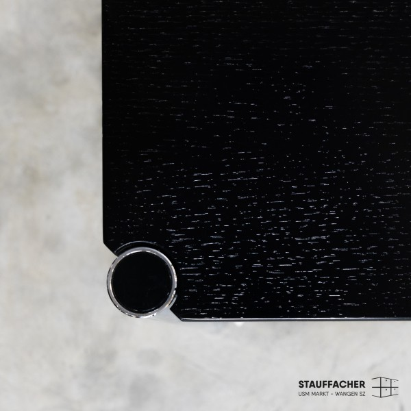 USM Haller Tisch Eiche schwarz
