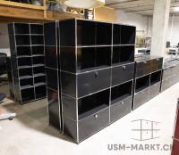 USM Regal 2x5 35 Schwarz 2hr2kl