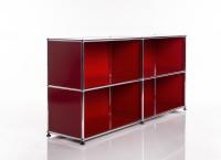 USM Haller Regal 2x2 Rot