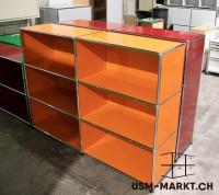 USM Haller Regal 2x3 Orange