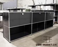 USM Sideboard 3x2 Schwarz