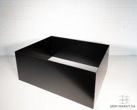 Einlegerahmen 750x350x500 schwarz
