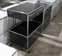 USM Stauraum-Möbel Modell A schwarz