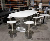 Dizzie Steh- Konferenztisch von Arper 250x120