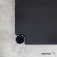 USM Haller Tisch Linol schwarz