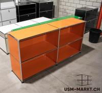 USM Regal 2x2 Orange