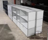USM Regal 3x3 Lichtgrau speziell