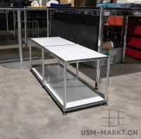 USM Regal 2x1 Lichtgrau