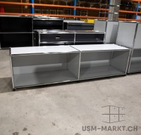 USM Lowboard 2x1 35 Lichtgrau