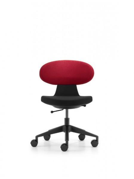Simplex 3D Rot-Schwarz Alu poliert