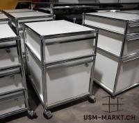 USM Haller Rollkorpus A46 Weiss