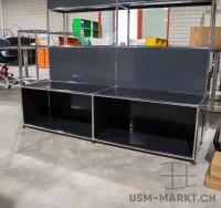 USM Regal 2x1 Schwarz