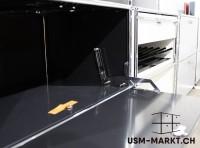 USM Regal 1x2 Schwarz