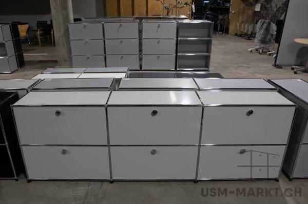 USM Sideboard 3x2 35 Lichtgrau 3hr3kl