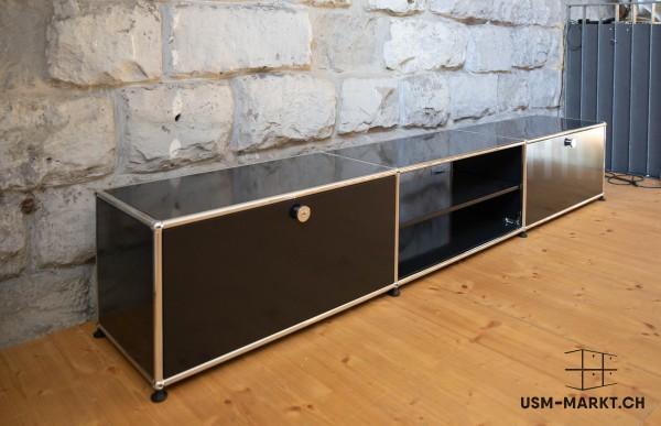 USM Haller TV Möbel 3x1