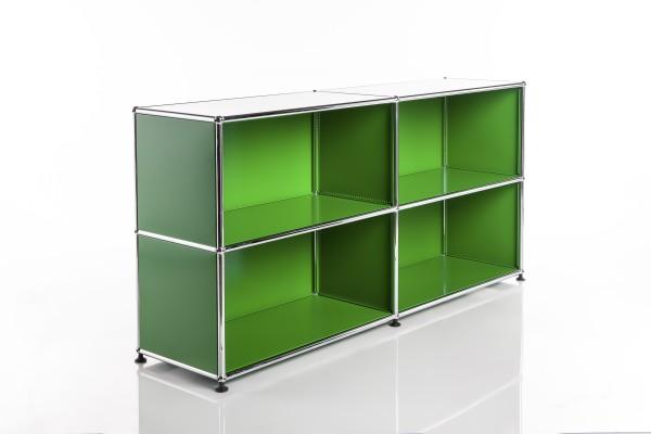 USM Haller Regal 2x2 Grün