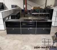 USM Sideboard 3x2 Schwarz 3hr