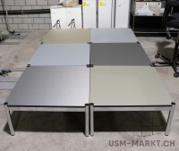 USM Haller Couchtisch Tisch 75x75 Fenix NTA