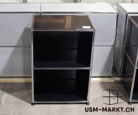 USM Regal 1x2 Schwarz 50 breit