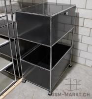 USM Stauraum-Möbel Modell B schwarz