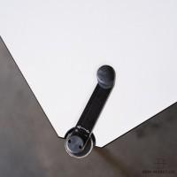 USM Haller Tisch Kunstharz höhenverstellbar 200x100
