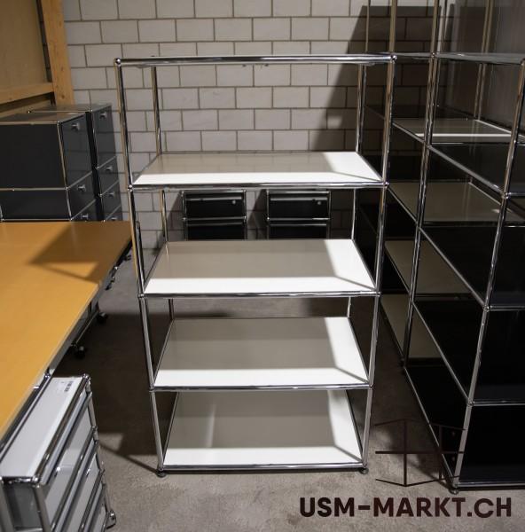 USM Regal 1x4 Weiss offen