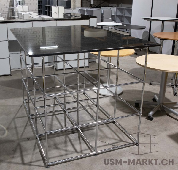 USM Haller Theke / Stehtisch Granit