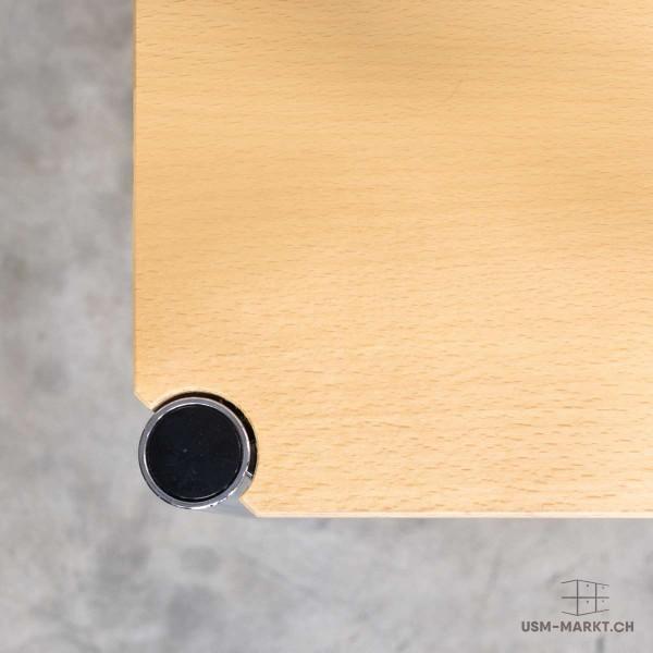 USM Haller Tisch Buche 75x75