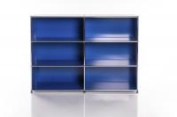 USM Haller Regal 2x3 Enzianblau